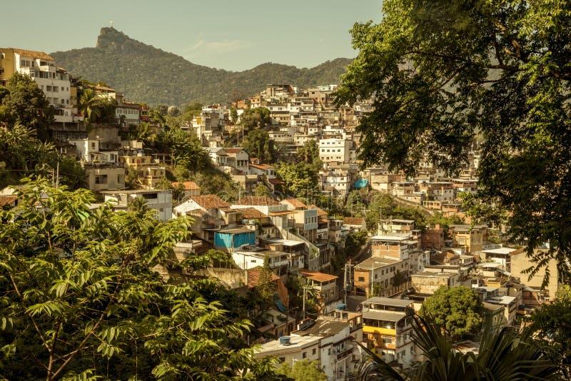 Favela en Rio de Janeiro fotos de archivo
