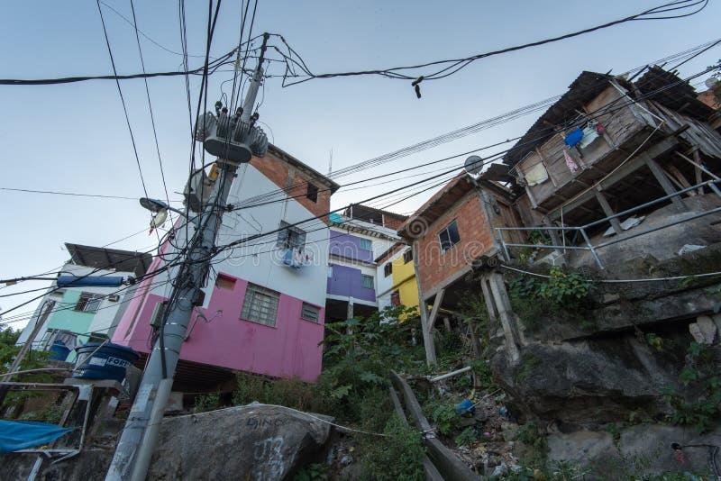 Favela Rio de janeiro zdjęcie stock