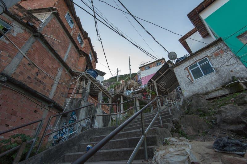 Favela Rio de janeiro obraz stock