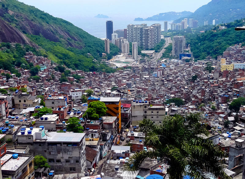 Favela stock photos