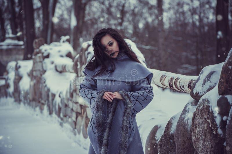 Favola della giovane donna fotografie stock