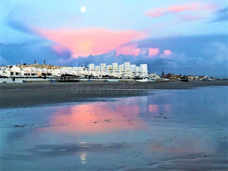 Favola e magia in Matalascanas, provincia di Huelva, Andalusia, Spagna immagini stock