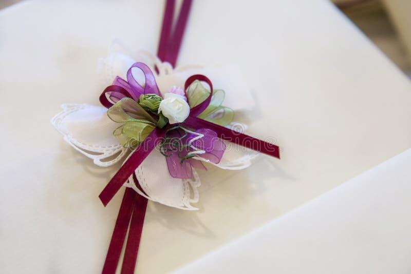 Favores do casamento fotografia de stock