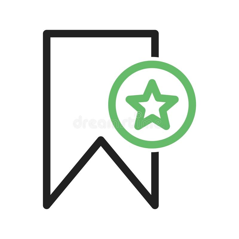 Favoriete Referentie stock illustratie