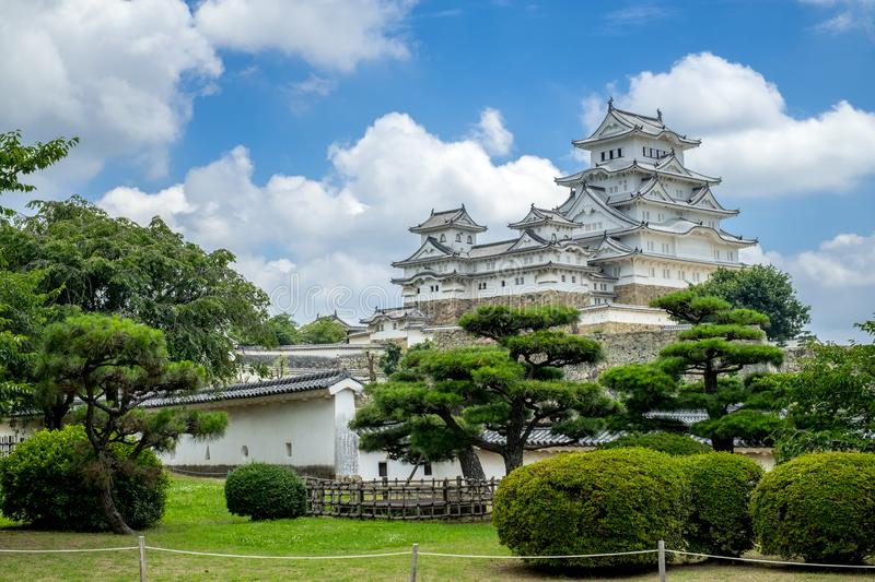 Favorit Osaka Castle i Osaka royaltyfria foton