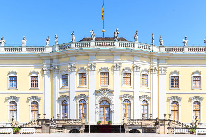 Favorite Palace of Schloss Ludwigsburg. Germany royalty free stock image