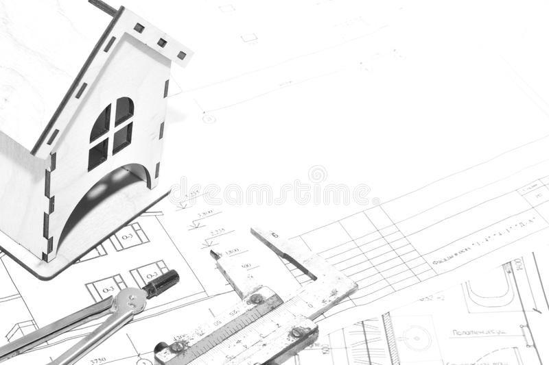 Favorite work.Architecture. royalty free stock image