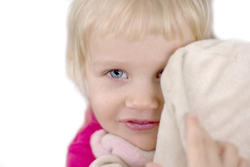 Download Favourite toy stock image. Image of blond, pink, portrait - 8249813