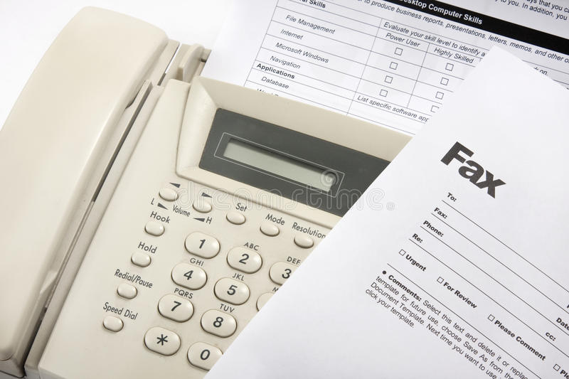 Download Fax stock photo. Image of transmitting, send, objects - 15462604