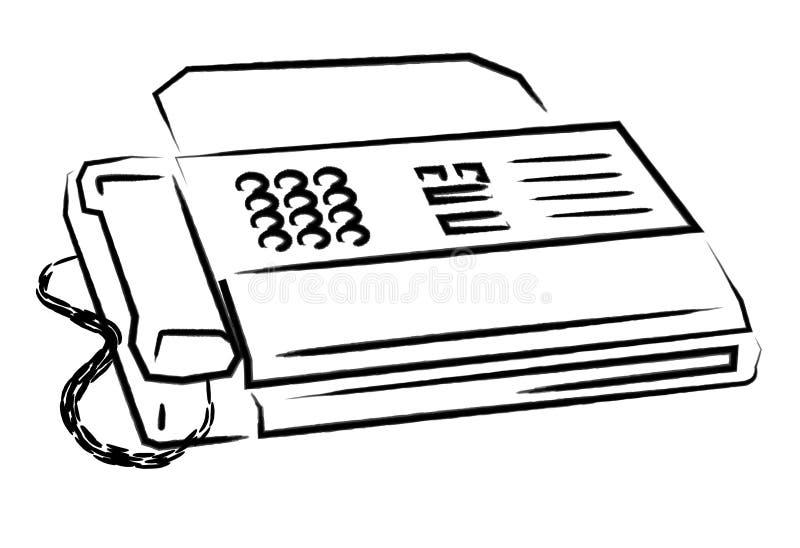 Fax libre illustration