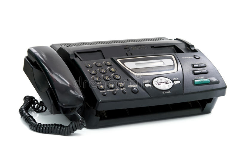 Fax imagens de stock
