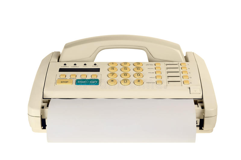 Download Fax machine stock image. Image of paper, phone, button - 23501669