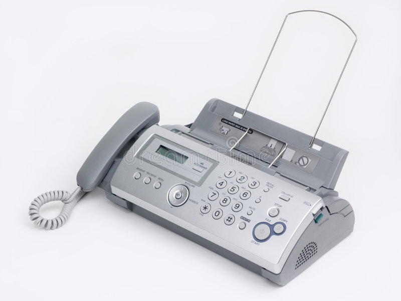 Download Fax machine stock image. Image of communicate, sheet, copy - 6278975