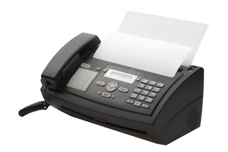 fax machine royaltyfria foton