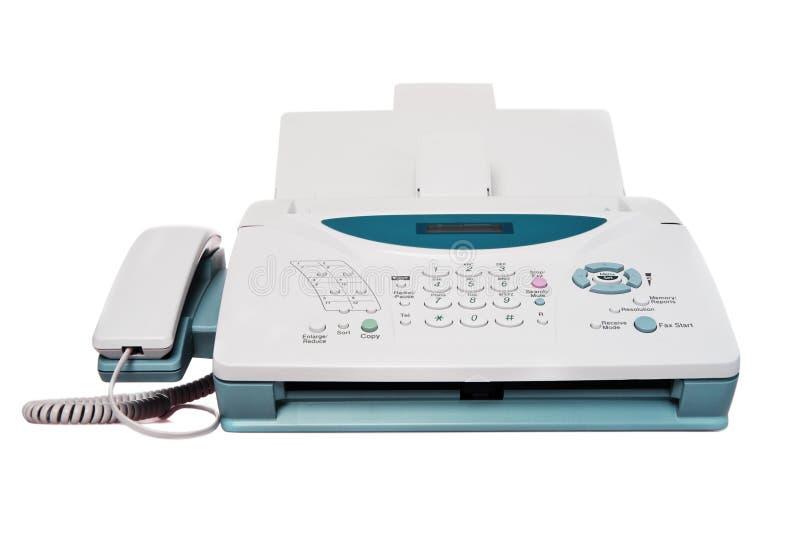 Faxapparaat stock foto