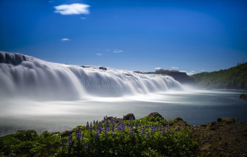 Faxi vattenfall royaltyfri fotografi