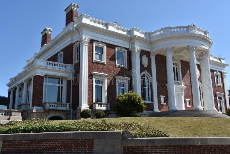Faxon-Thomas Mansion, den original- Hunter Museum av amerikansk konst, i Chattanooga royaltyfria bilder