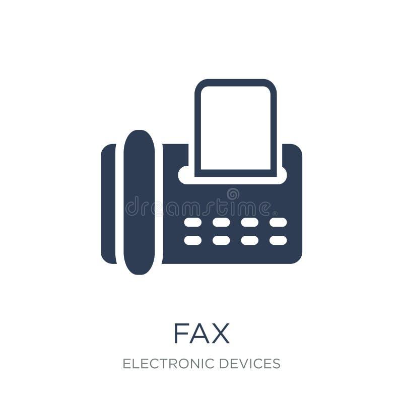Faxsymbol  royaltyfri illustrationer