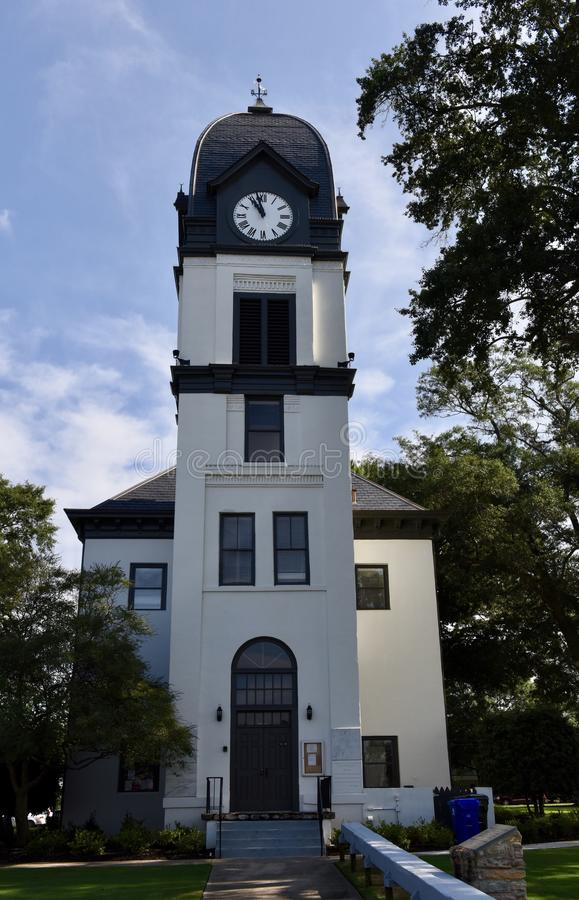 Fayette County domstolsbyggnad arkivbilder