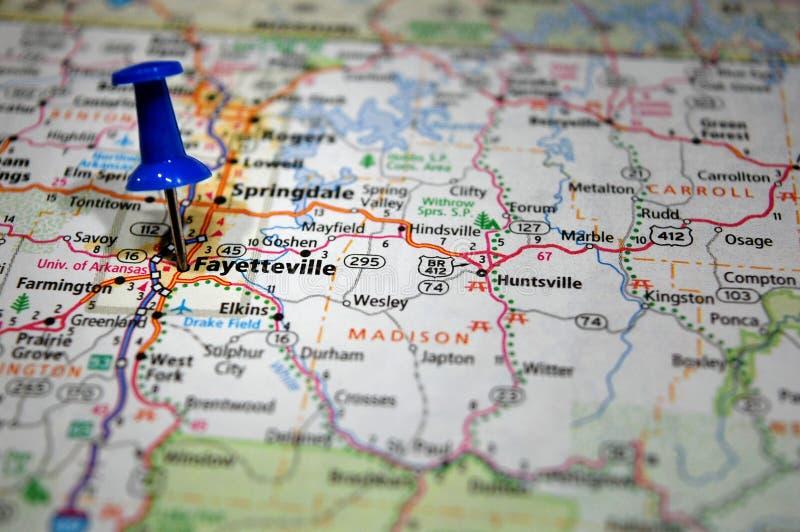 Fayetteville, Αρκάνσας στοκ φωτογραφία με δικαίωμα ελεύθερης χρήσης