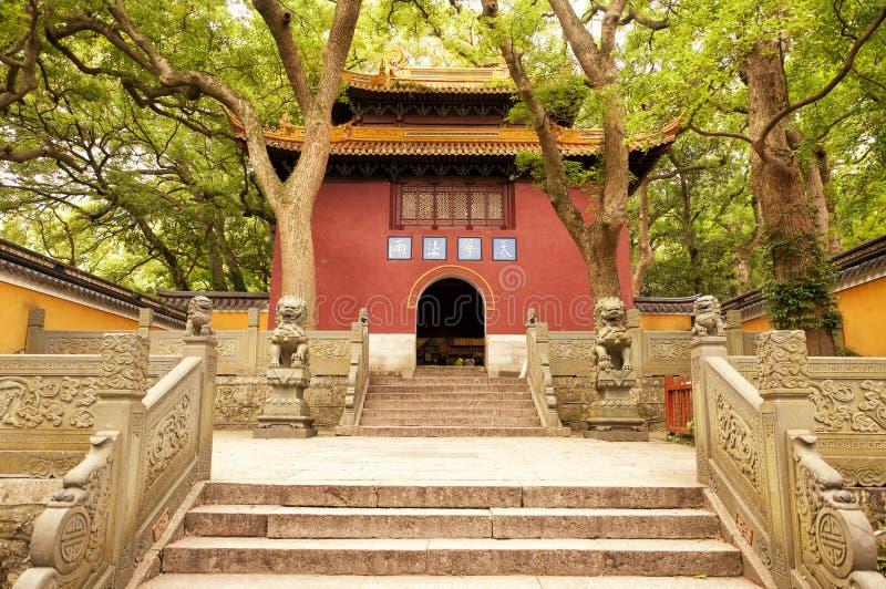 Fayu świątyni wejście zdjęcia royalty free