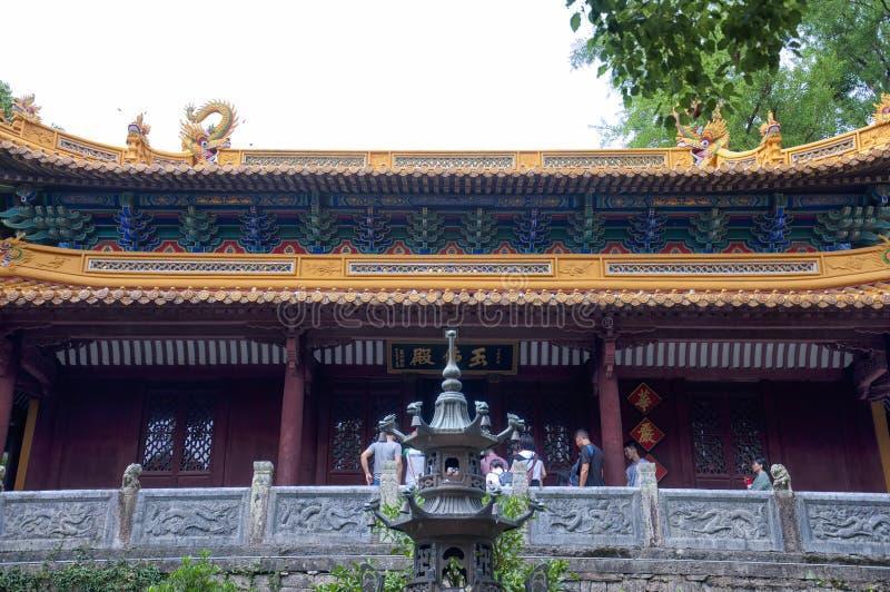 Fayu tempel arkivbilder