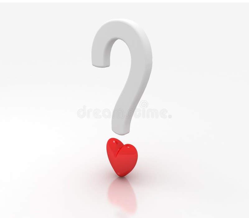 Faz você? coração/amor? ilustração royalty free