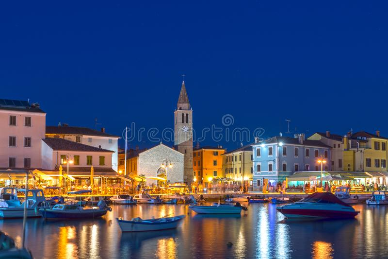 Fazana, Istria, Хорватия стоковое изображение rf