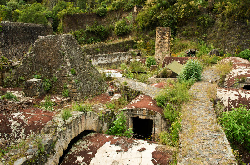 Fazenda Santa Maria Regla, fidalgo méxico fotografia de stock royalty free