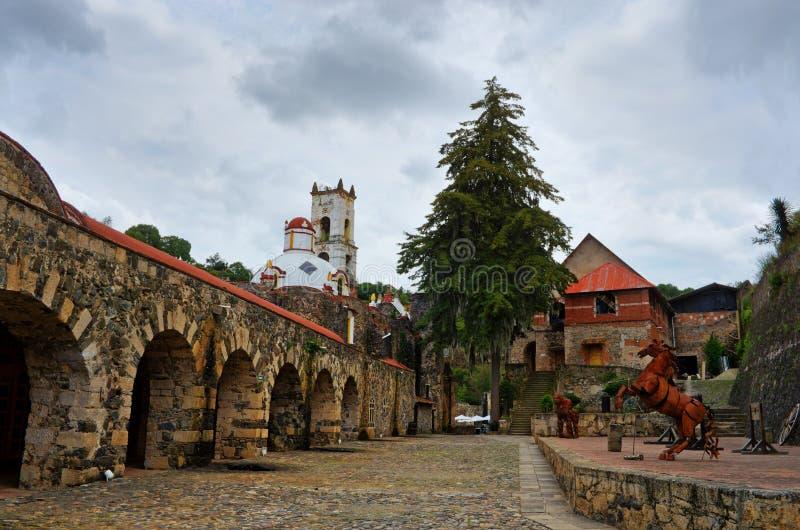Fazenda Santa Maria Regla, fidalgo méxico foto de stock royalty free