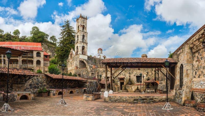 Fazenda Santa Maria Regla, fidalgo méxico fotografia de stock
