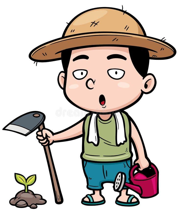 Fazendeiro ilustração stock