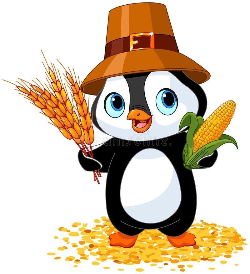 Fazendeiro do pinguim ilustração stock