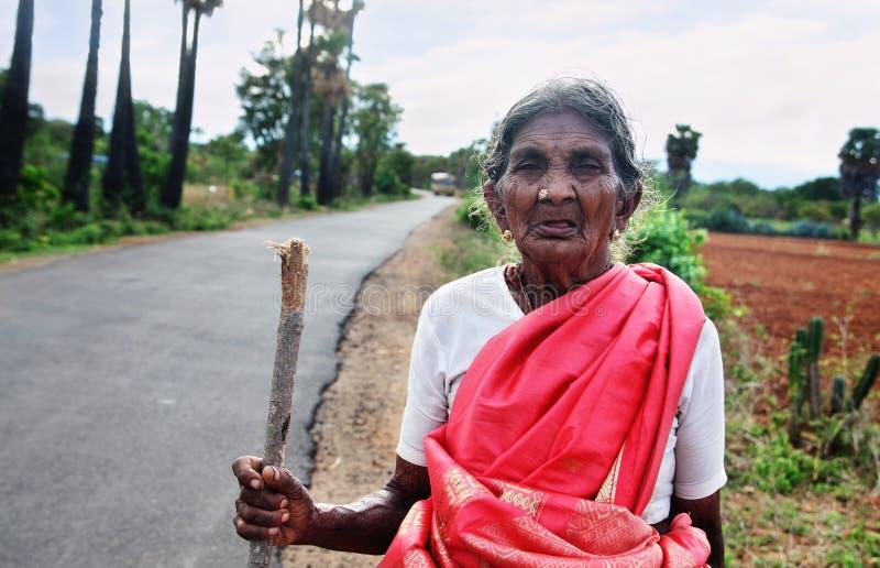 Fazendeiro indiano fotografia de stock royalty free