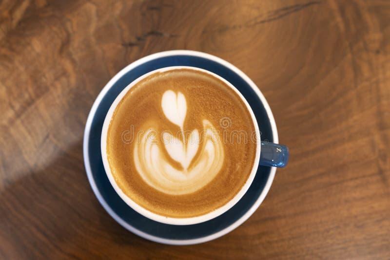 Fazendo Café Espresso Silky fotos de stock