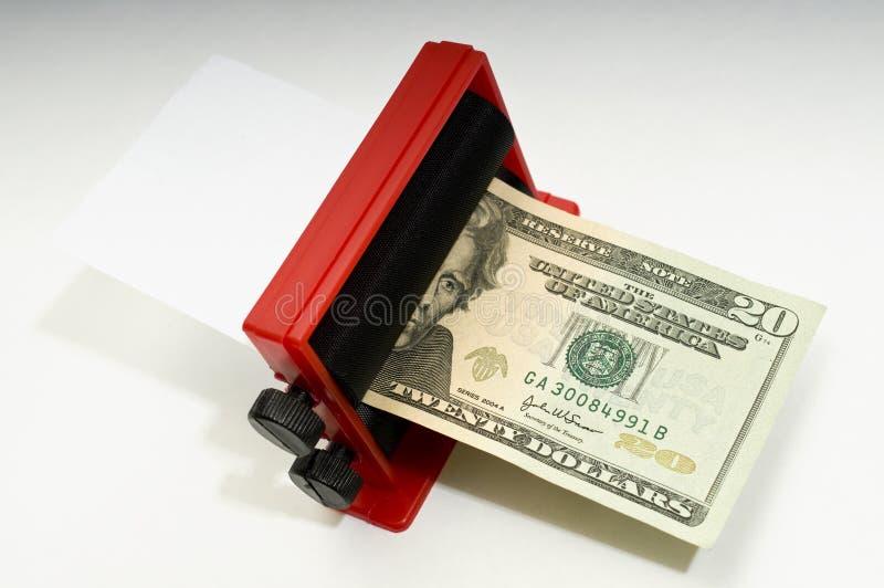 Fazendo o dinheiro foto de stock royalty free