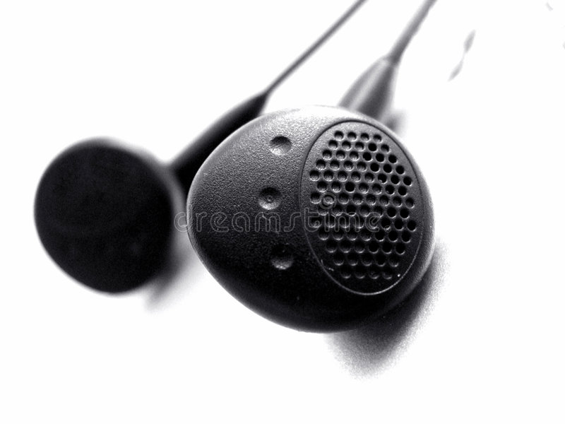 Download Fazendo ondas foto de stock. Imagem de ouça, relaxe, earphones - 70926