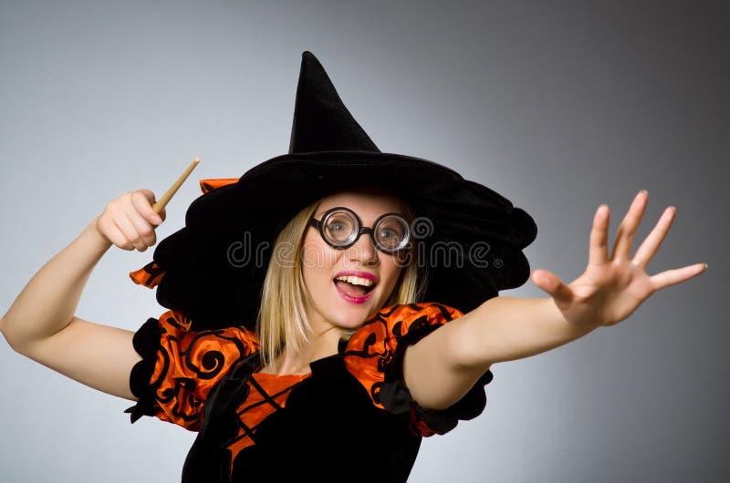 Fazer da bruxa foto de stock