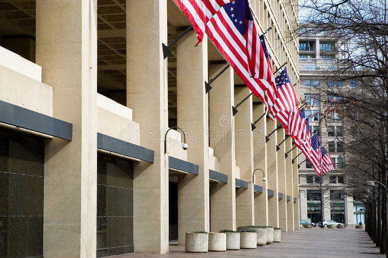 FBI Building, Washington, DC stock photography