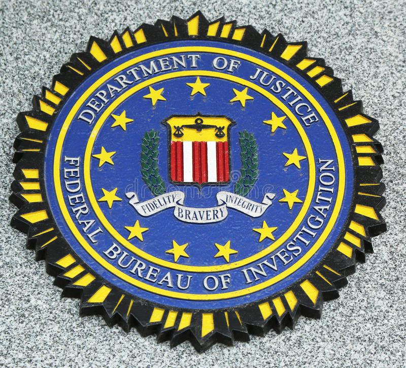 Download FBI Emblem On Fallen Officers Memorial In Brooklyn, NY Editorial Image - Image of never, collapsed: 30369555