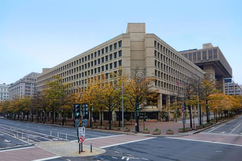 Download FBI J Edgar Hoover Building In Washington DC Stock Image - Image of avenue, concrete: 35601925