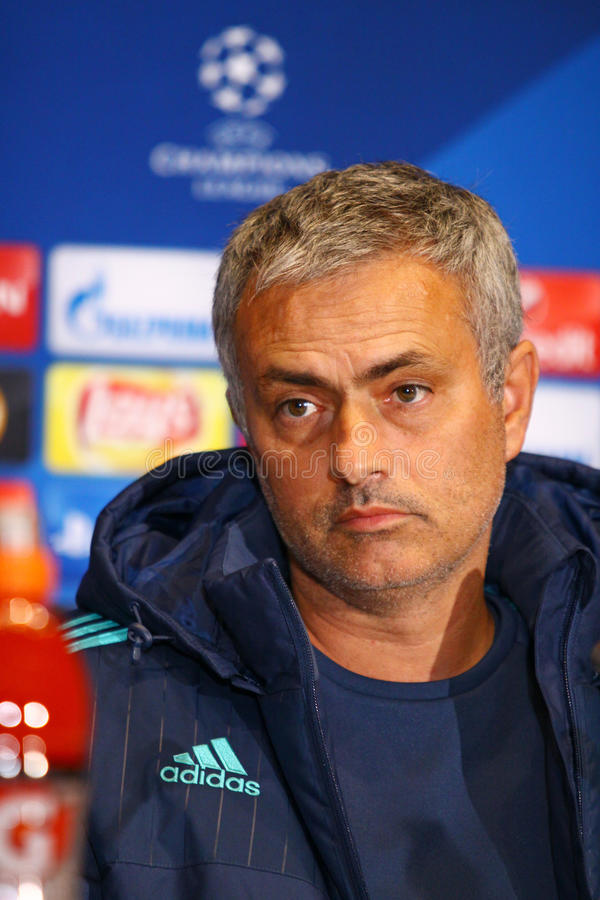FC διευθυντής Jose Mourinho της Chelsea στοκ φωτογραφία με δικαίωμα ελεύθερης χρήσης