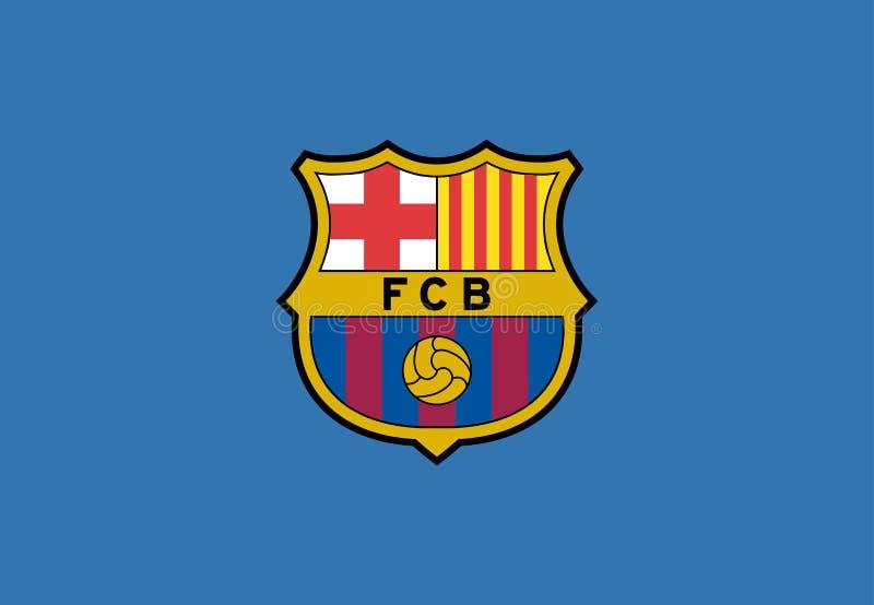 FC Barcelona Logo Editorial Vetora ilustração do vetor