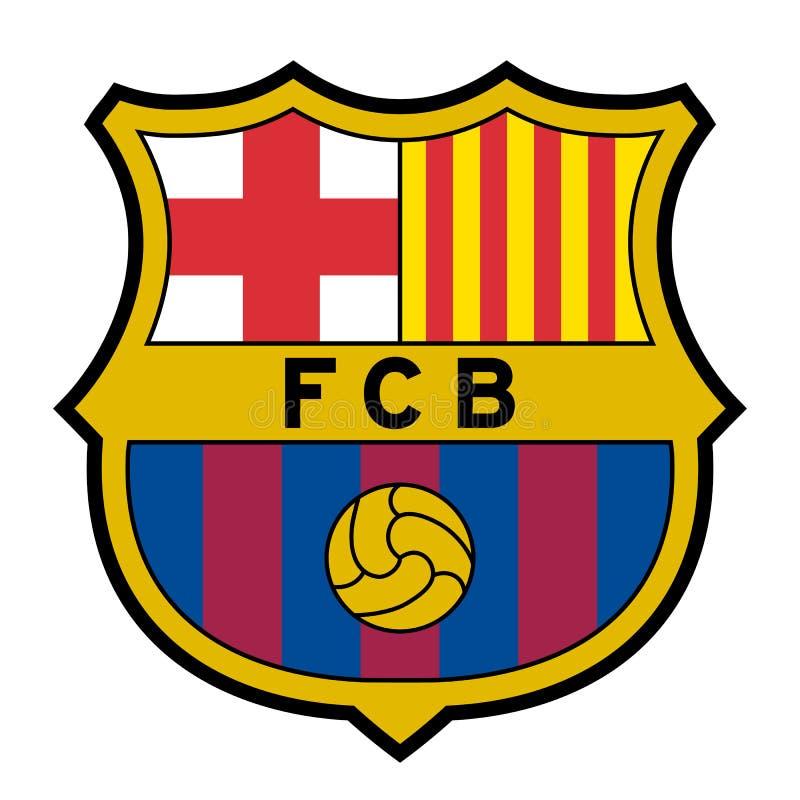 FC Barcelona logo editorial photo. Illustration of brand ...