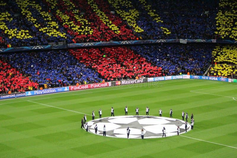 Champions League fotografia stock
