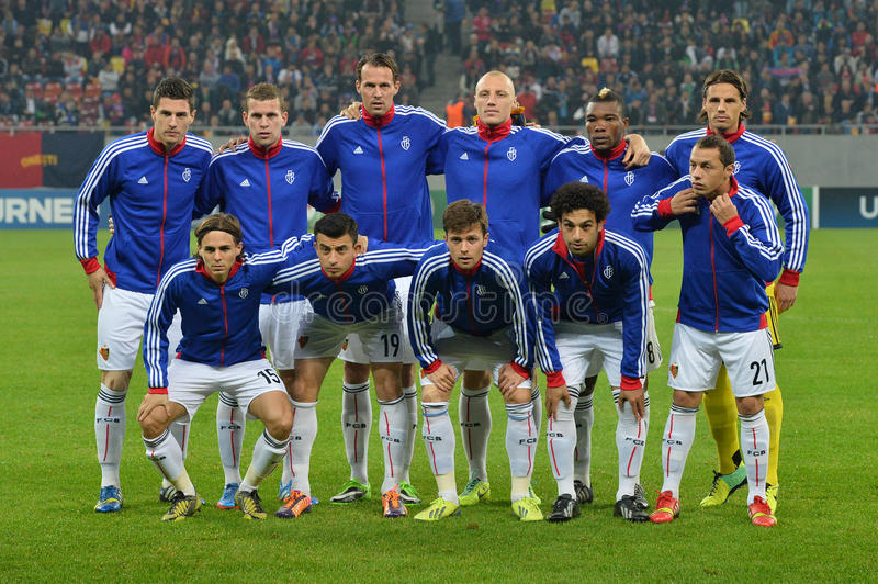 FC Basel uszeregowanie fotografia stock