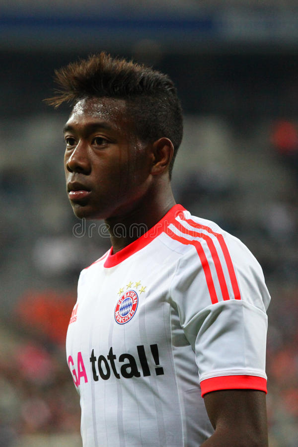 FC Bayerns David Alaba Editorial Image