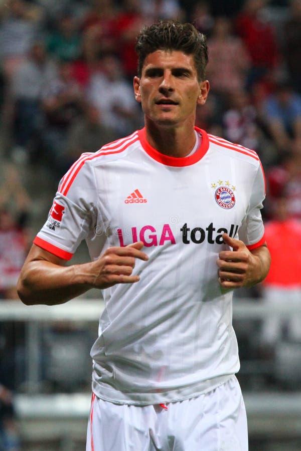 FC Bayerns Mario Gomez Editorial Stock Image