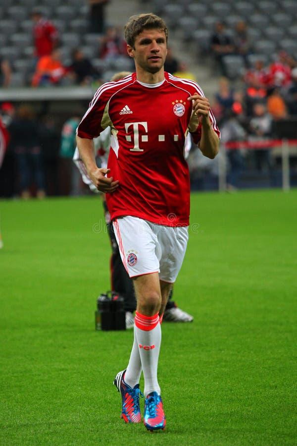 FC Bayerns Thomas Mueller Editorial Stock Image
