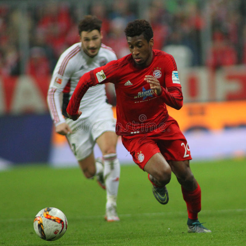 FC Beieren Muenchen v FC Ingolstadt - Bundesliga royalty-vrije stock foto